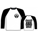 ABORTED - 666 DEATH METAL BASEBALL SHIRT
