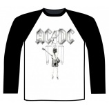 AC/DC - FLICK OF THE SWITCH BASEBALL SHIRT